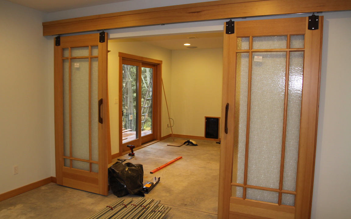 Interior design ideas modern interiors barn doors for Indoor sliding doors