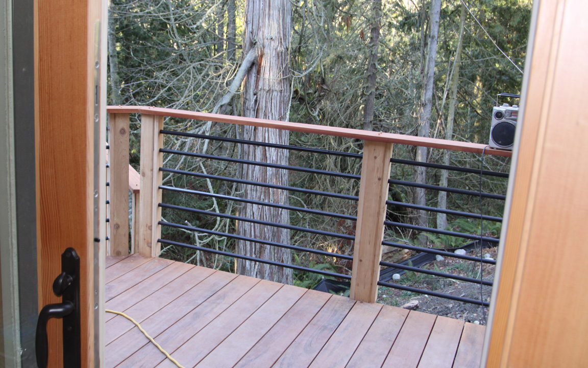 Horizontal metal deck rail deck ideas pinterest deck horizontal metal deck rail baanklon Image collections